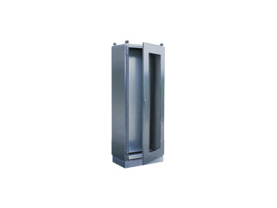 AR9XP stainless steel cabinet-toughened glass door