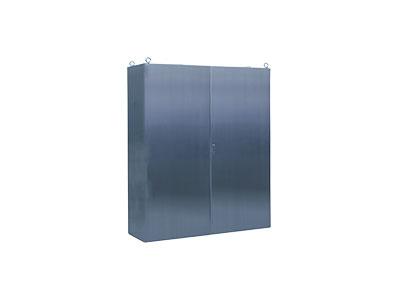AR8X/D one piece stainless steel cabinet -double door