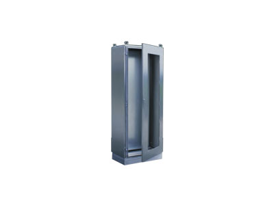 AR8XP one piece stainless steel cabinet-toughened glass door