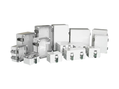 TJ-AG-H,TJ-AT-H Small plastic enclosure(stainless steel hinge& latch type)