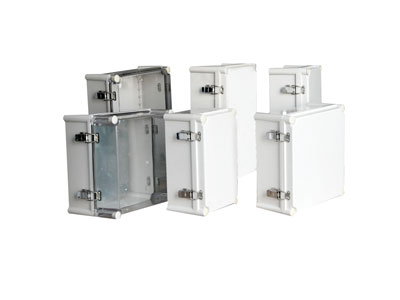 TJ-AG-H,TJ-AT-H Big plastic enclosure(stainless steel hinge& latch type)