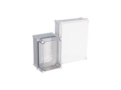 TJ-AG-L,TJ-AT-L Plastic enclosure(corner hinge+screw type)