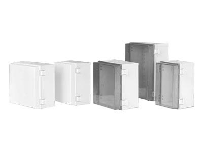 TJ-MG,TJ-MT series Plastic enclosure(plastic latch+hinge type)