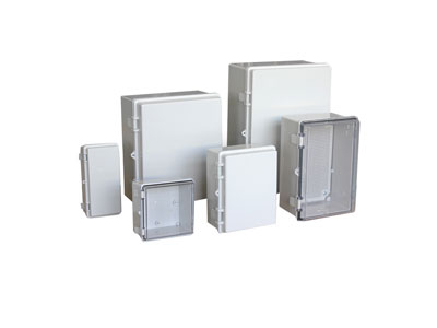 TE-AG,TE-AT series Plastic enclosure(Plastic hinge+stainless steel latch type)