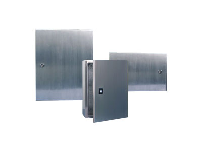 STX Stainless steel box with single door