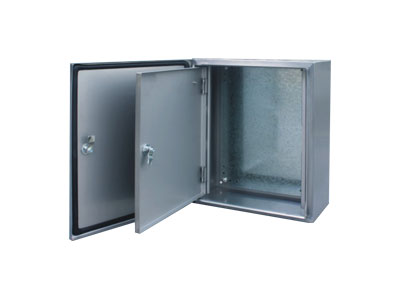 STXI Stainless steel box with inner door
