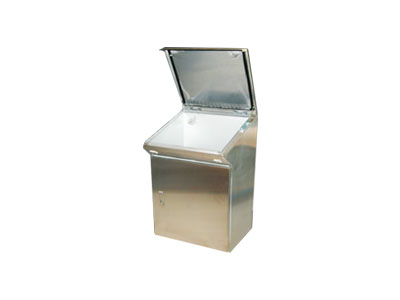 TPX stainless steel control desk